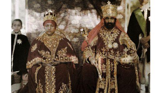 Historische Aufnahmen von Königsfamilien aus aller Welt