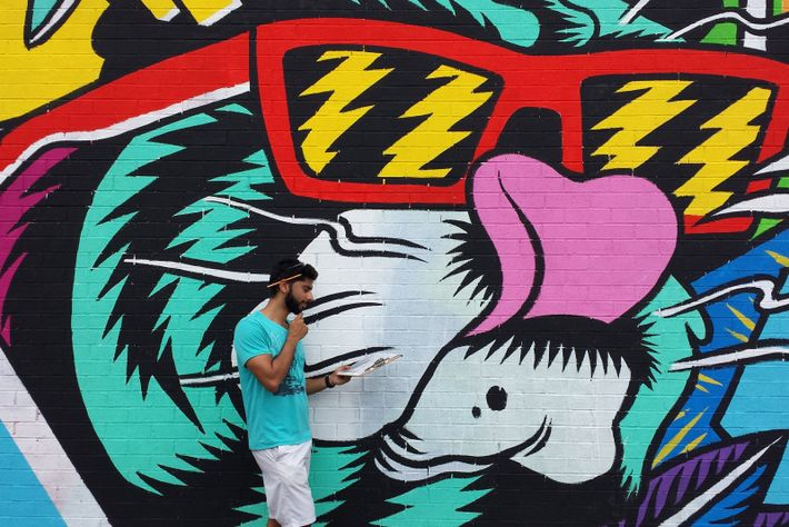 Das alljährliche MURAL Festival in Montréal zelebriert herausragende Künstler und eine Vielzahl kreativer Stile