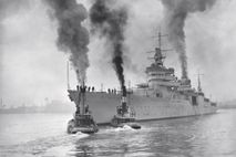 Bild der USS Indianapolis