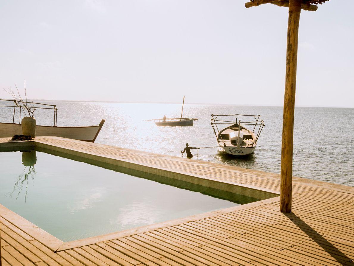 Die Villa Sands, ein teurer Luxus-Resort, ist eines der kontroversesten Projekte der Insel. Die Villa wurde ...