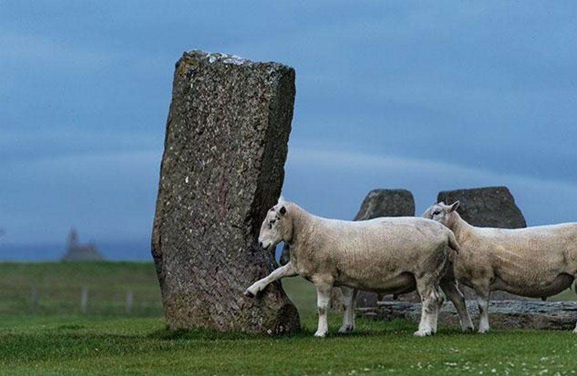 Vorlage für Stonehenge?
