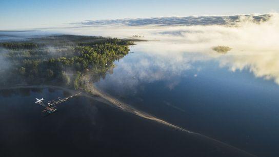 Der Wabakimi Provincial Park von oben.