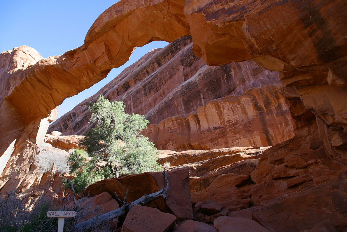 WALL ARCH, ARCHES-NATIONALPARK