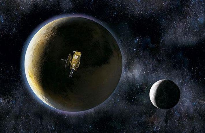 Wie sieht Pluto aus?