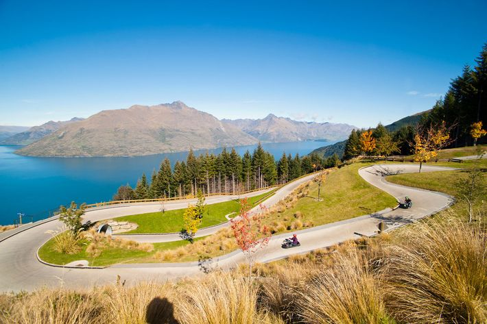 Luge, Queenstown, New Zealand