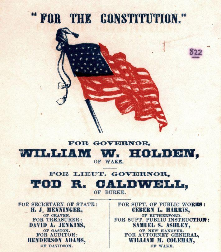 Wahlschein Holden Galdwell