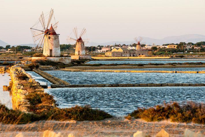 Windmühlen von Trapani