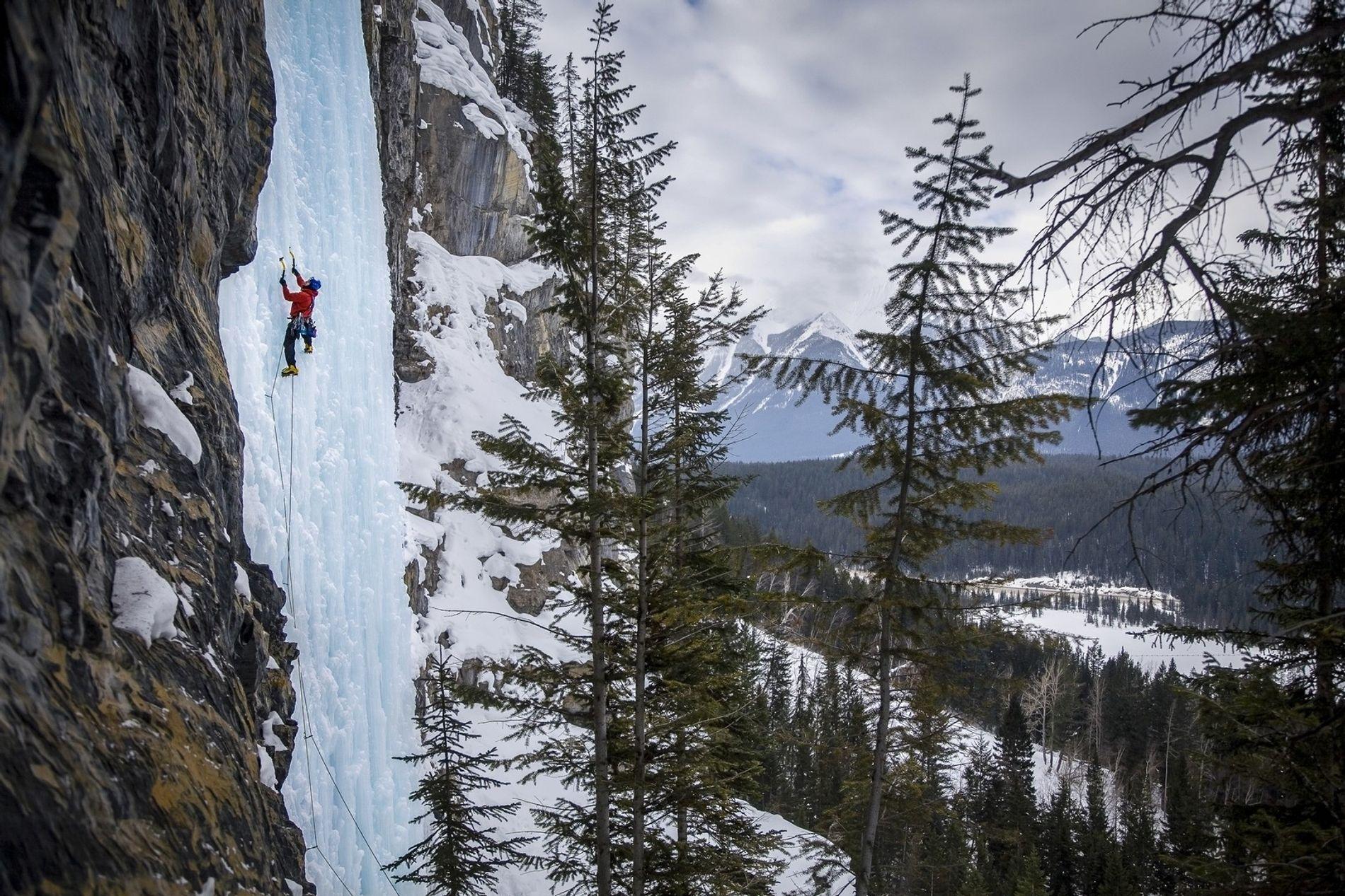 Einen unvergleichlichen Adrenalinkick bietet Eisklettern an den Wasserfällen in Alberta. Dieser Sport ist sowohl für interessierte ...