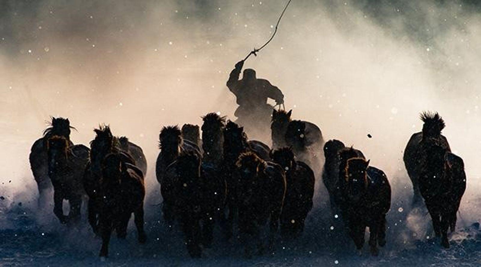 """""""Der Winter in der Inneren Mongolei ist gnadenlos. Bei einer Temperatur von minus 20 Grad und ..."""