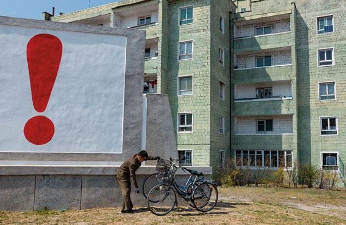 Wohnblock in Kaesong