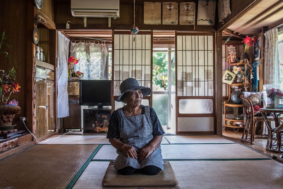 """Misako Miyagi, 88, ist """"nur eine Jugendliche"""", wenn man nach einem Sprichwort aus Ogami geht, wo ..."""