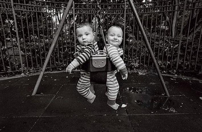 Zweisprachige Zwillinge